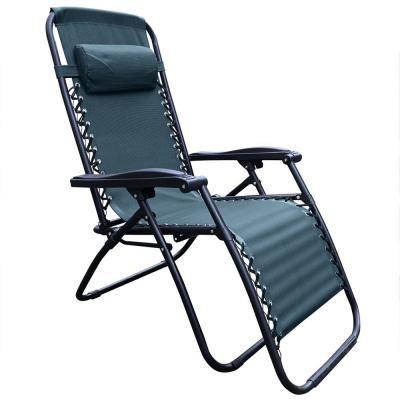 Kerti fotel, állítható, zöld - AU SOLEIL